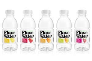 FlaveWater 5 flavors packaging