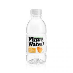 FlaveWater peach packaging