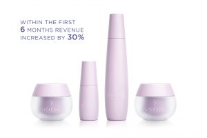 skincare packaging design Sisidyll products