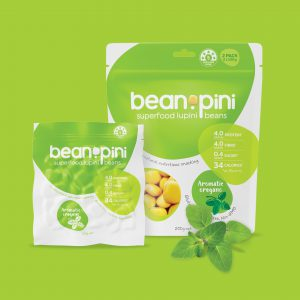superfood packaging design Beanopini oregano