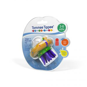 TommeeTippee infant packaging design bath toy