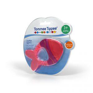 TommeeTippee infant packaging design teether