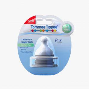 TommeeTippee infant packaging render teats