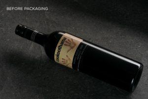 NuganCookoothama wine packaging design before photo