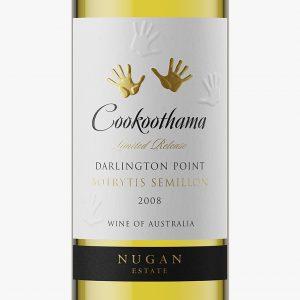 NuganCookoothama wine packaging design label