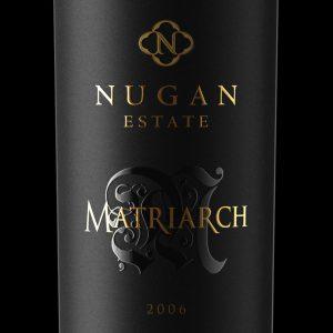 NuganMatriarch wine packaging design label