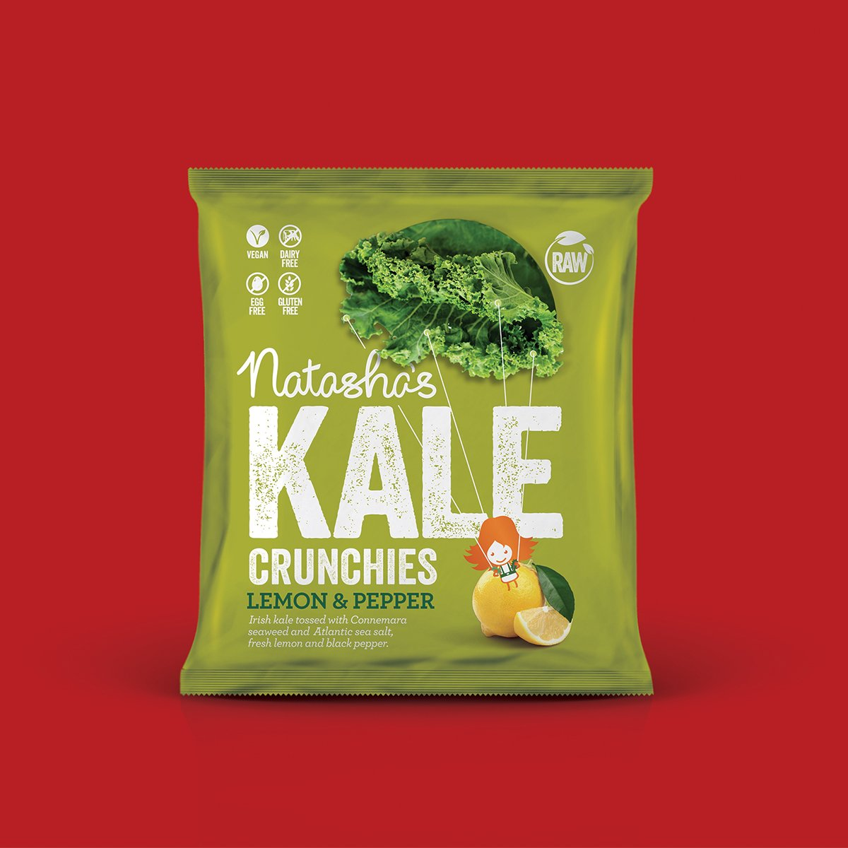Natashas Kale branding packaging