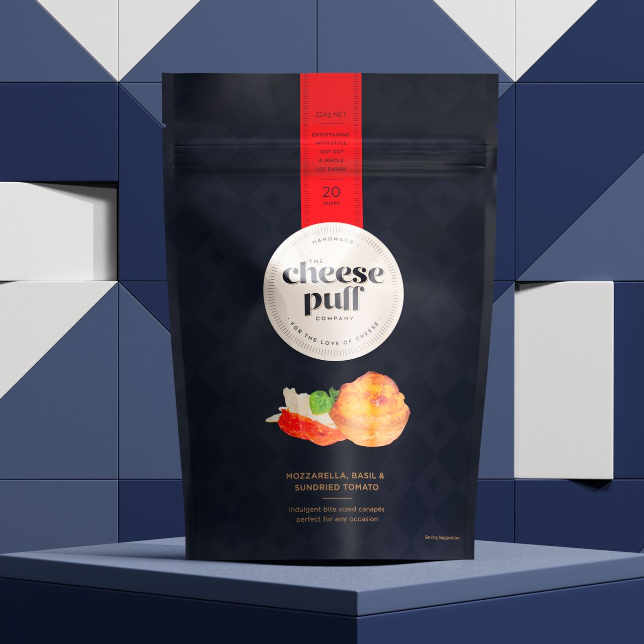 Cheesepuff Branding Packaging