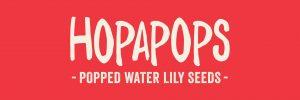 Hopapops Branding Logo