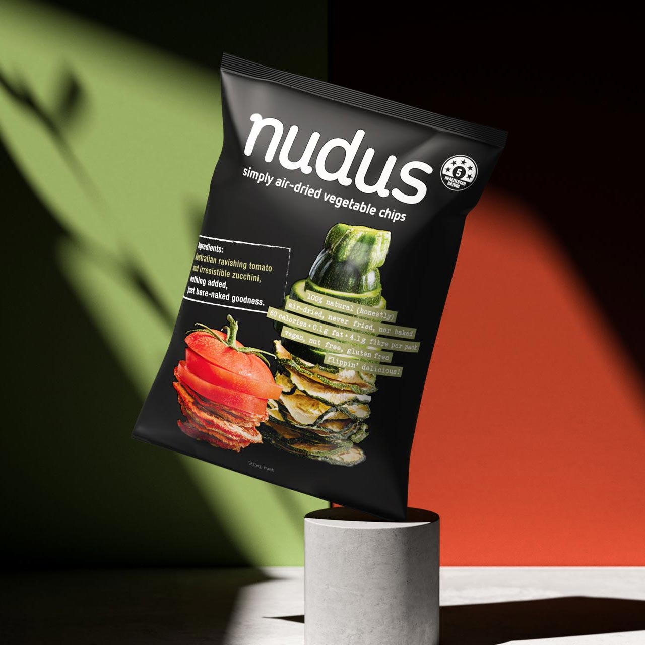 Nudus Branding Snack Packaging