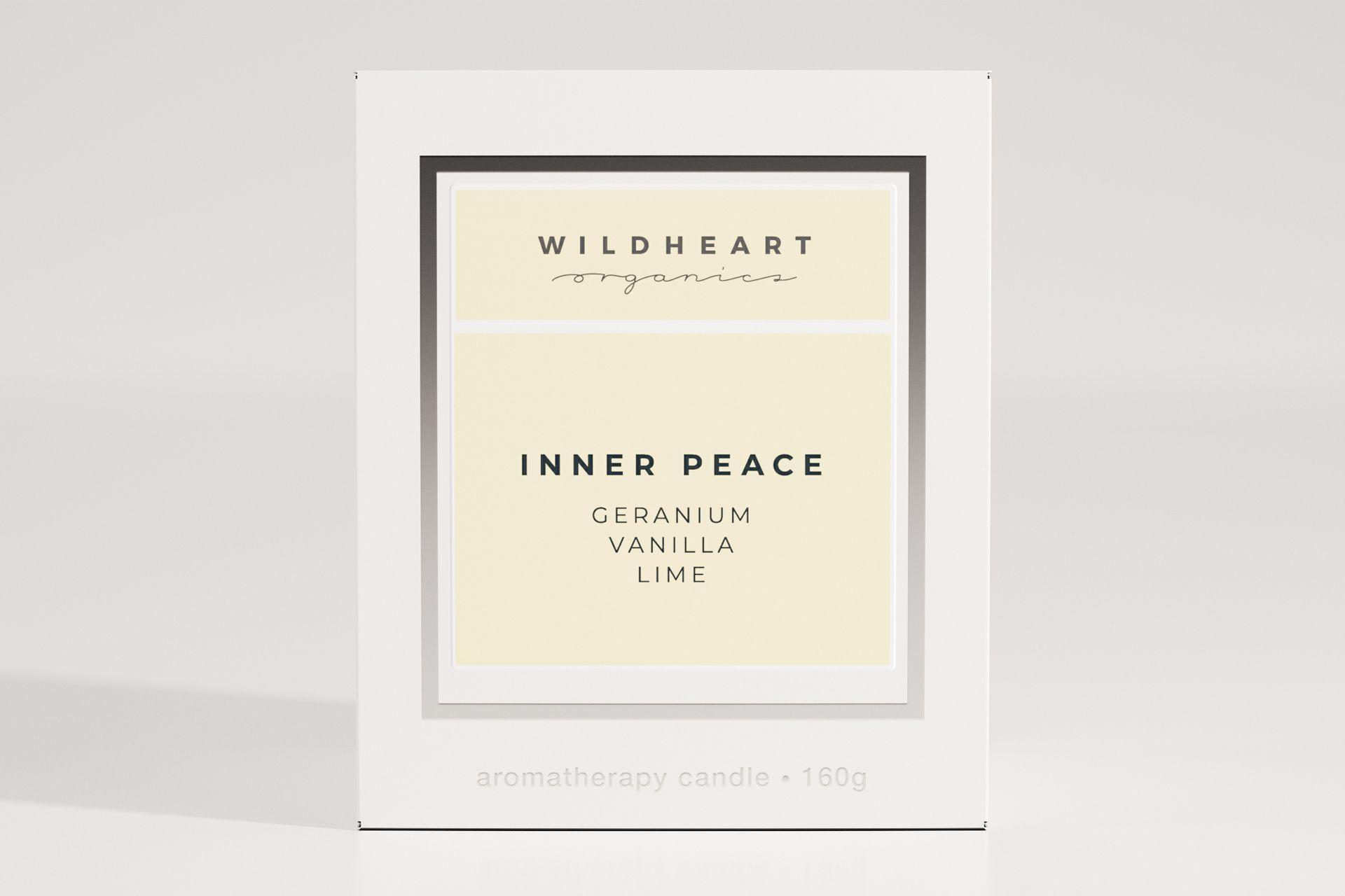 Wildheart Branding Inner Peace Candle